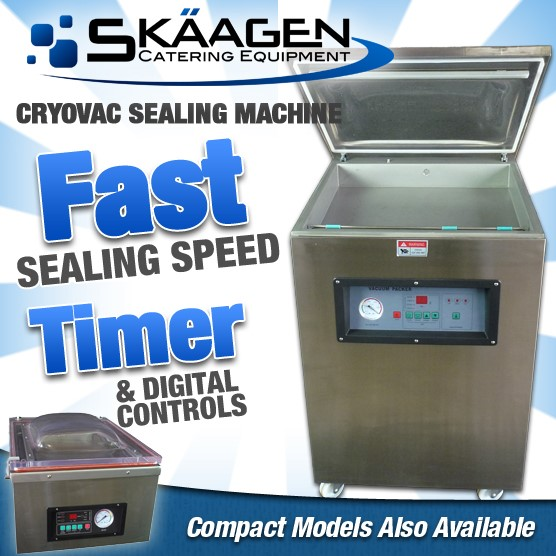 Unused DZ500/1 Commercial Grade Vacuum Sealer