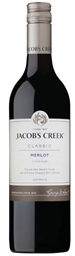 Jacob's Creek 'Classic' Merlot 2018 (12 x 750mL), SE AUS.