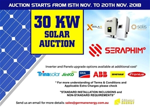 30 KW Solar PV System with Standard Installation Inclusions