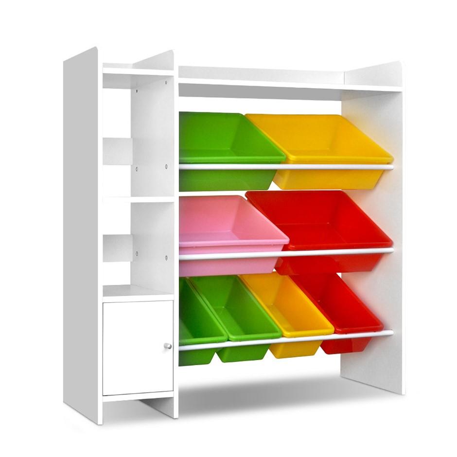 Artiss 8 Bin Toy Storage Shelf