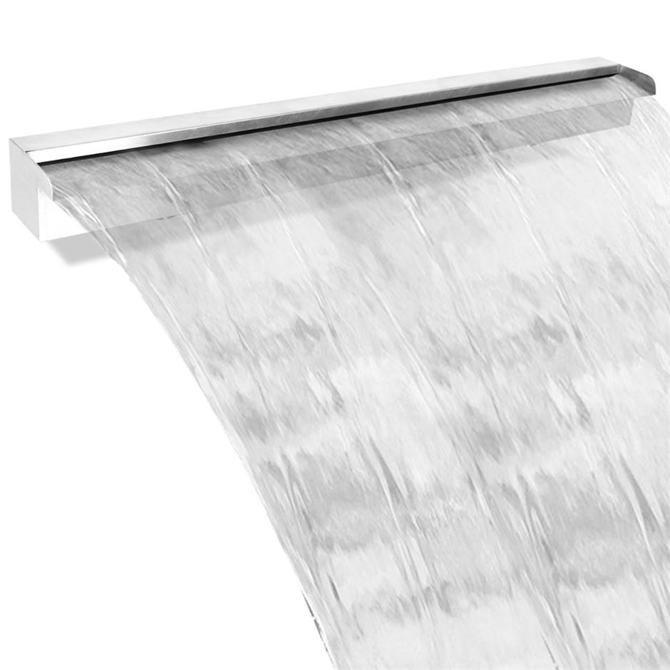 Gardeon Stainless Steel Waterfall Feature - 150CM