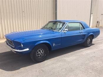 1967 Ford Mustang RWD Automatic Coupe (MT Gambier S.A.)