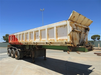 5x Side Tipper Trailers - Highway 2.5m