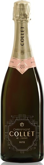 Collet Champagne Brut Rose NV (6 x 750mL), France.