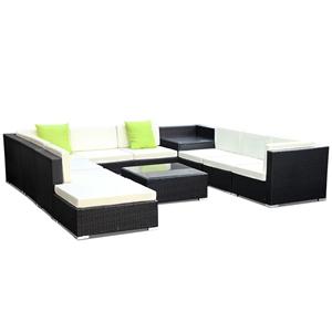 Gardeon 11 Piece Outdoor Furniture Set W