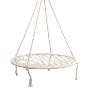 Gardeon Kids Hammock Swing Chair - Cream