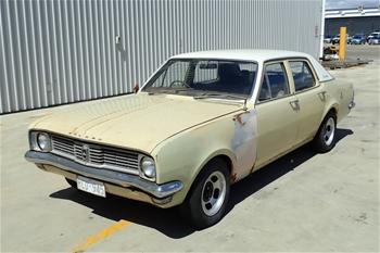Unreserved 1970 Holden HT Kingswood RWD Manual Sedan