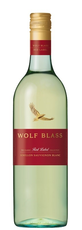 Wolf Blass `Red Label` Semillon Sauvignon Blanc 2018 (6 x 750mL). SE AUS.