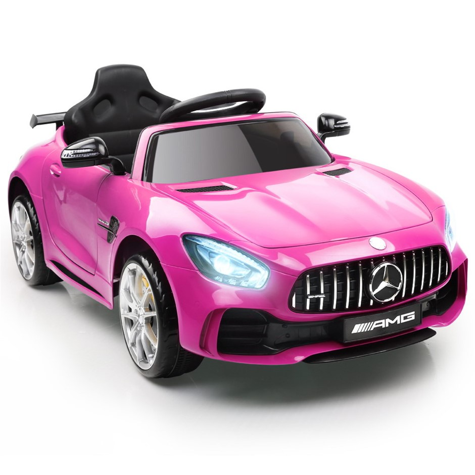 Rigo Kid's Ride on Mercedes-AMG GT R - Pink