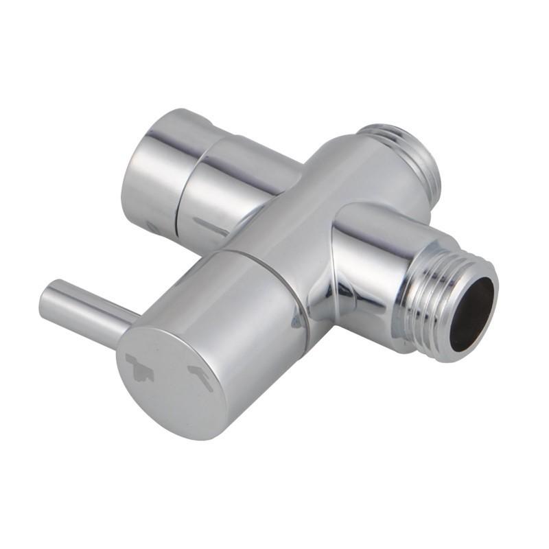 Toilet Bidet Spray's Brass Diverter Mixer 3 Way Valve