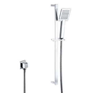 Chrome Square Rainfall Handheld Shower H