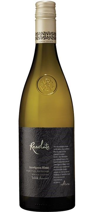 Ara Resolute Sauvignon Blanc 2017 (6 x 750mL), Marlborough, NZ.