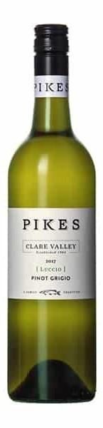 Pikes `Luccio` Pinot Grigio 2018 (6 x 750mL), Clare Valley, SA.