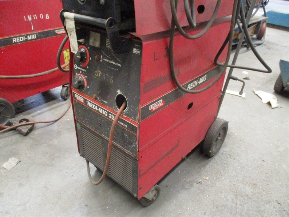 Lincoln Electric Mig Welder and Wire Feeder Auction (0038 ...