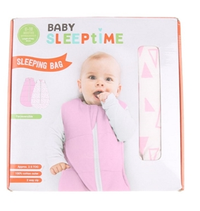 new product cc5cb 9b67e BABY SLEEPTIME Reversible Sleeping Bag, 6-18months, 1 x Pink ...