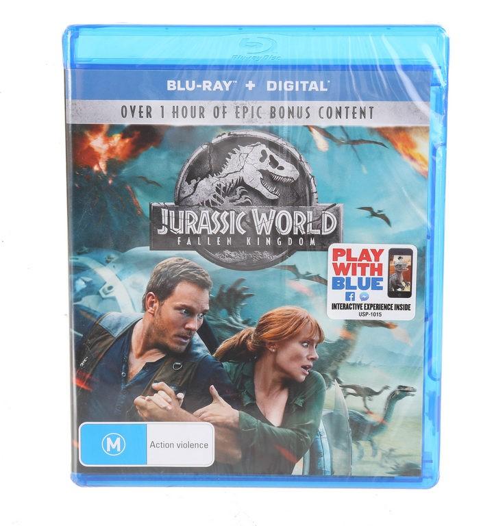 BLU-RAY DVD JURRASIC WORLD FALLEN KINGOM. Buyers Note - Discount Freight Ra