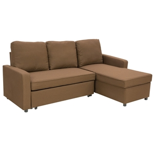 Buy 3 Seater Corner Sofa Bed With Storage Lounge Chaise