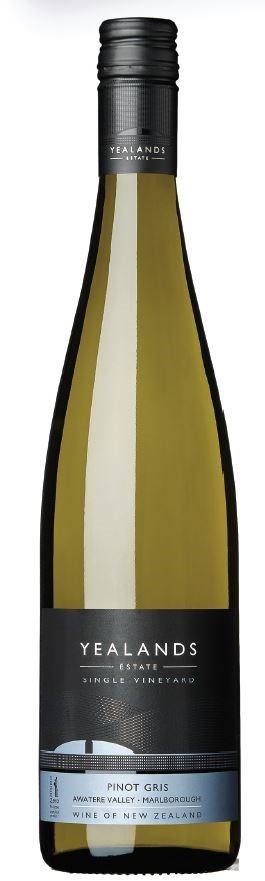 Yealands Estate Single Vineyard Pinot Gris 2017 (6 x 750mL), Marlborough.