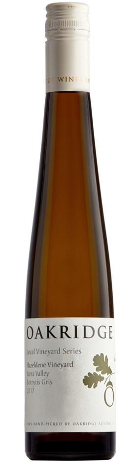 Oakridge LVS Hazeldene Botrytis Gris 2017 (12 x 375mL), Yarra Valley, VIC.