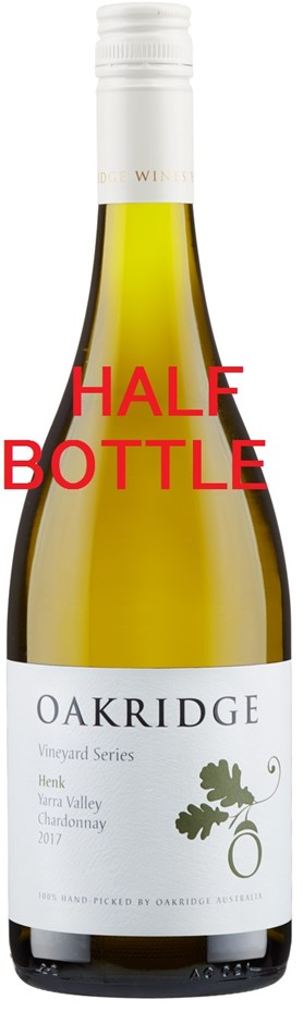 Oakridge LVS Henk's Chardonay 2017 (12 x 375mL Half Bottle), Yarra Valley.