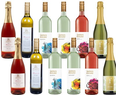James Estate White Mixed Pack (12 x 750mL) Hunter Valley, NSW