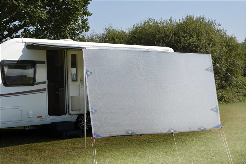 3.7m Caravan Screen Side Sunscreen Sun Shade for 13' Awning