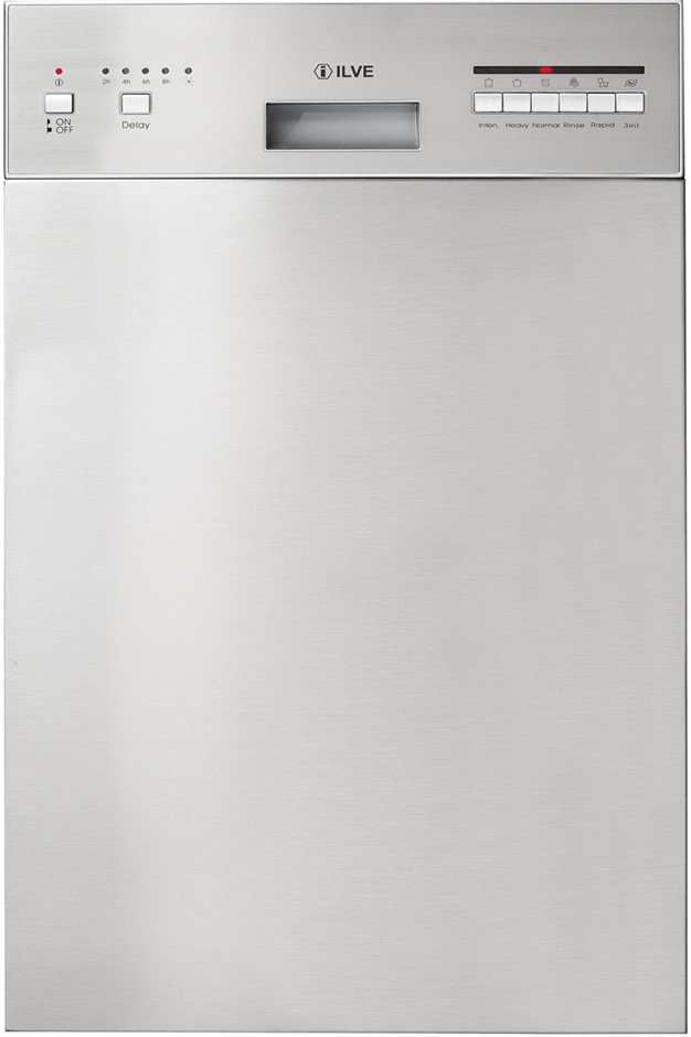 ILVE 45cm Stainless Steel Built-In Dishwasher (IVDBI458)