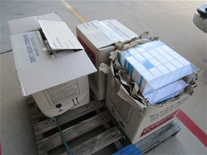 3 x Cartons of Product Samples