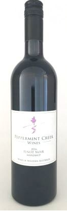 Peppermint Creek Pinot Noir 2016 (12 x 750mL) Manjimup, WA
