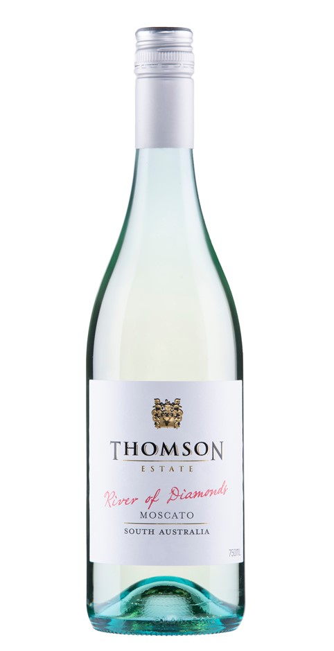 Thomson Estate River of Diamonds Moscato 2018 (12 x 750mL) SA