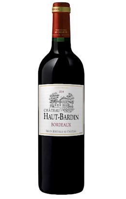 Maison Riviere Chateau Haut Bardin Red 2014 (12 x 750mL) Bordeaux, France