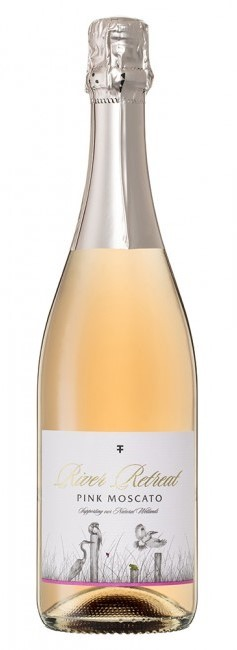Trentham Estate `River Retreat` Pink Moscato NV (6 x 750mL), NSW.