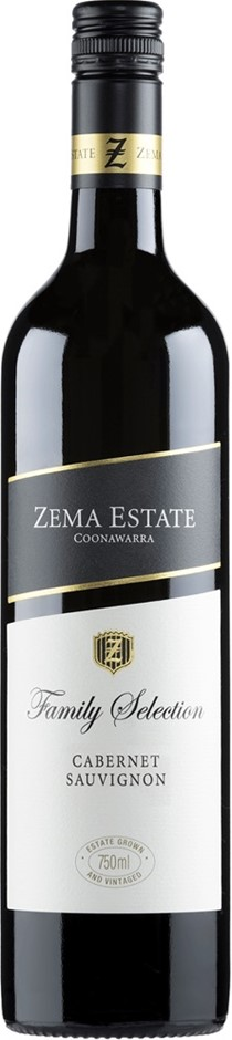 Zema Estate Family Selection Cabernet Sauvignon 2013 (6 x 750mL), SA.
