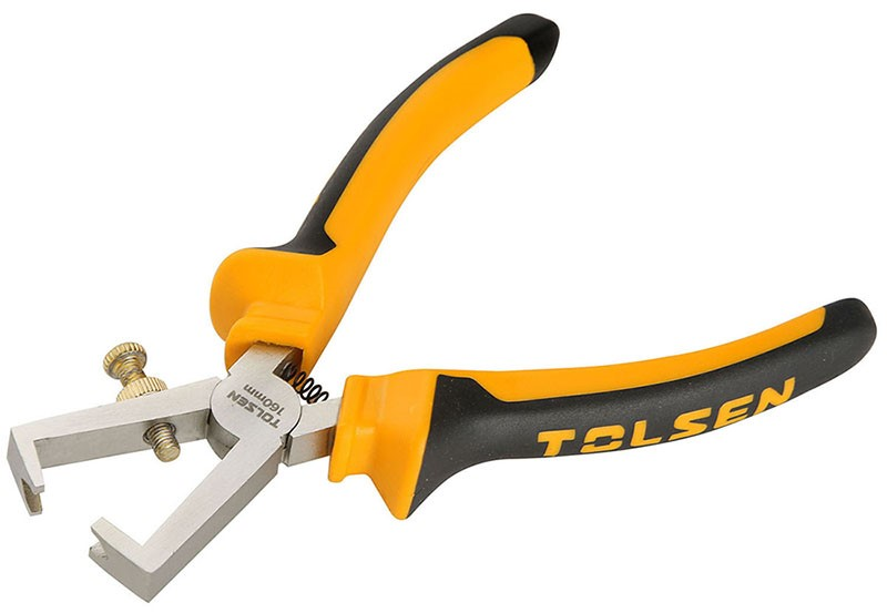 3 x TOLSEN Wire Stripping Pliers, 160mm. Buyers Note - Discount Freight Rat