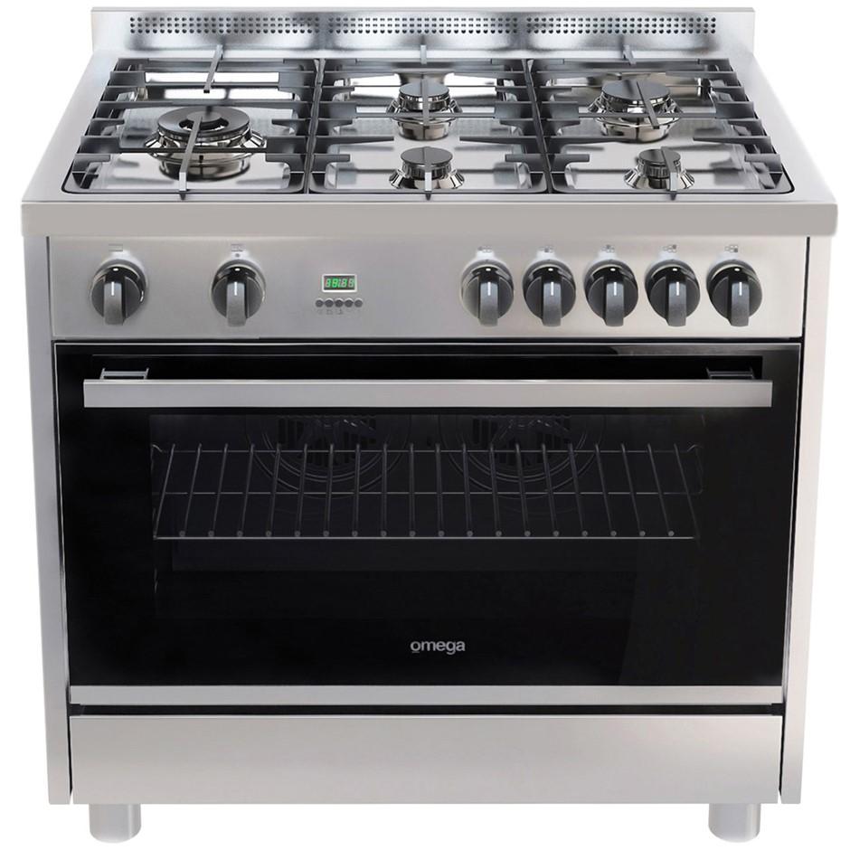 Omega OF916FX 90cm 135L Dual Fuel Freestanding Cooker
