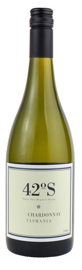 42 Degrees South Chardonnay 2018 (12 x 750mL), TAS.