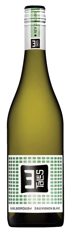 3 Tales Sauvignon Blanc 2019 (6 x 750mL), Marlboroguh, NZ,
