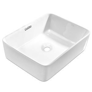 Cefito Ceramic Rectangle Sink Bowl - Whi