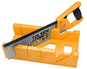 2 x TOLSEN Mitre Box with Back Saw Sets,