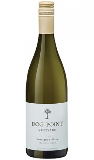 Dog Point Sauvignon Blanc 2018 (12 x 750mL), Marlborough, NZ.