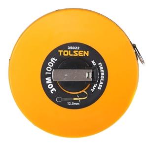 2 x TOLSEN Fibreglass Measuring Tapes, M