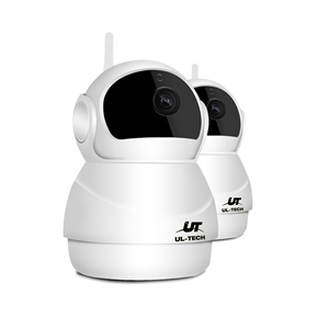 UL-TECH 1080P X2 Wireless IP Camera CCTV