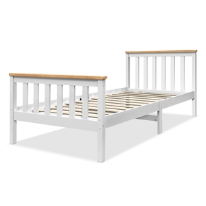 Artiss Single Wooden Bed Frame PONY Matt