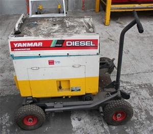 Yanmar 3Kw Diesel Generator Model: YDG300S-6E Showing 3928 Hours