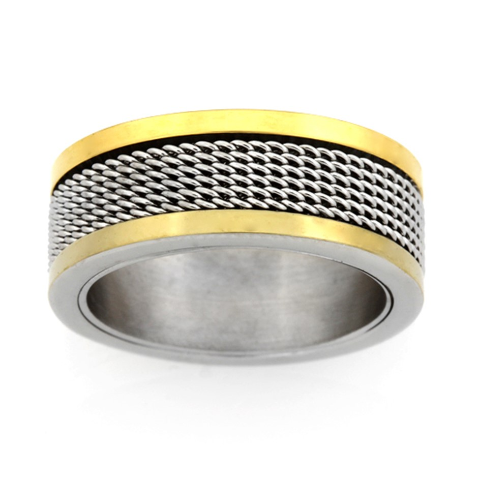 Stainless Steel Ring - Ring Size : O