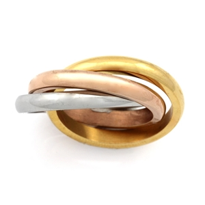 Stainless Steel Ring - Ring Size : R1/2