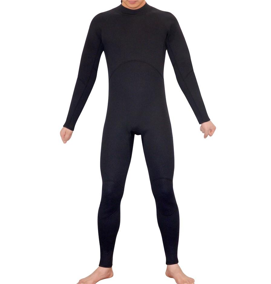 Mens Steamer Wetsuit Long Sleeve/Leg 3mm Neoprene Wet Suit - Large