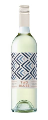 Two Blues Pinot Grigio 2018 (12 x 750mL) Mount Benson, SA