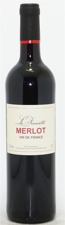 La Francette Merlot NV (6 x 750mL) Vin de france
