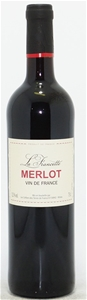 La Francette Merlot NV (6 x 750mL) Vin d